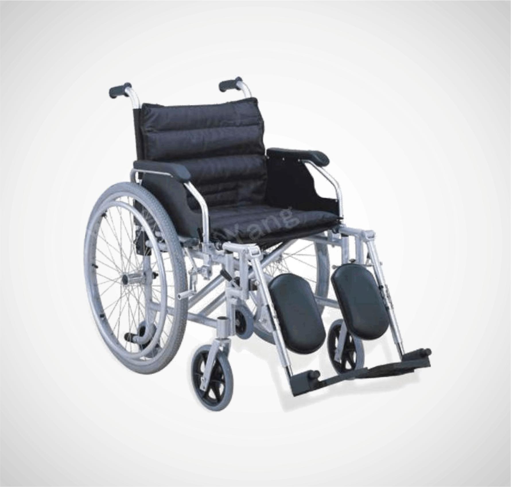 Silla de ruedas de aluminio multifuncional