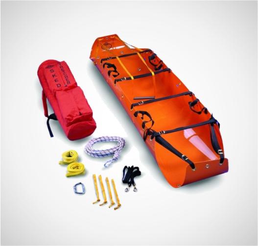 Sistema Básico para Rescate con Hebillas  Mejorada SKEDCO 2