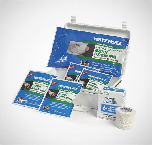 Water-Jel para el tratamiento de quemaduras