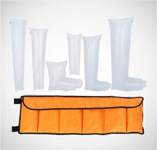Kits de férula neumática de primeros auxilios