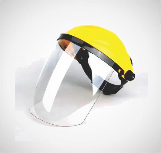 Protector Facial Casco Media Luna