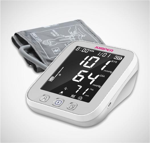 Tensiómetro de brazo digital Jumper